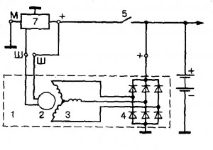 shema b 300x211 - Что означает д на генераторе