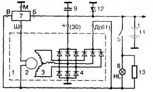 shema d 300x181 - Что означает д на генераторе